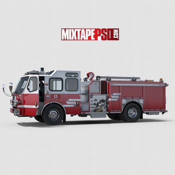 HD Fire Engine Truck