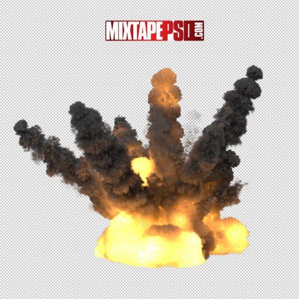 HD Fire Gasoline Explosion