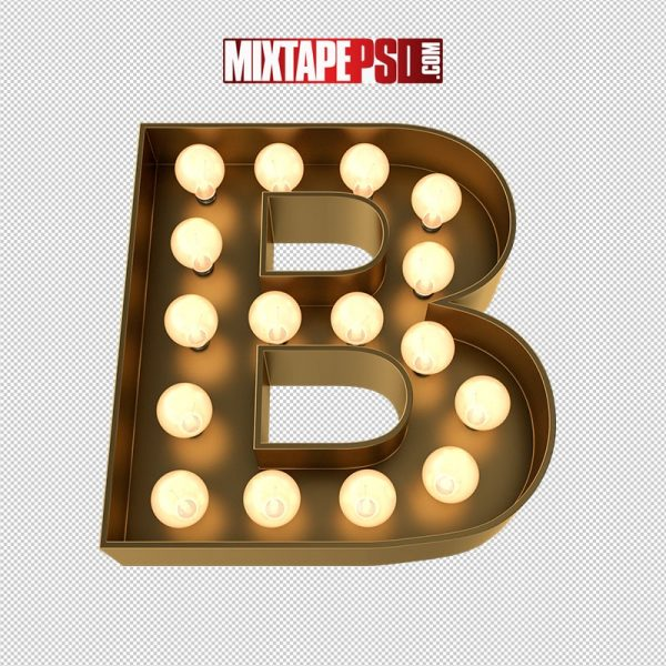 HD Marquee Sign Letter B