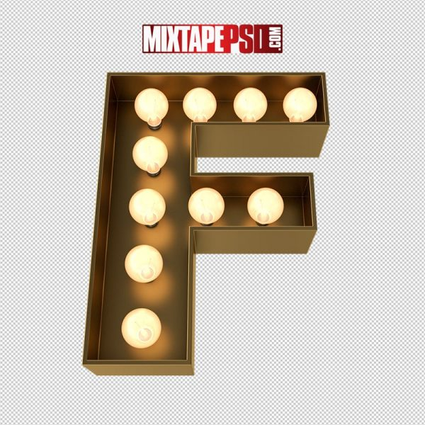 HD Marquee Sign Letter F