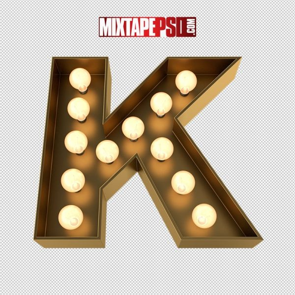 HD Marquee Sign Letter K
