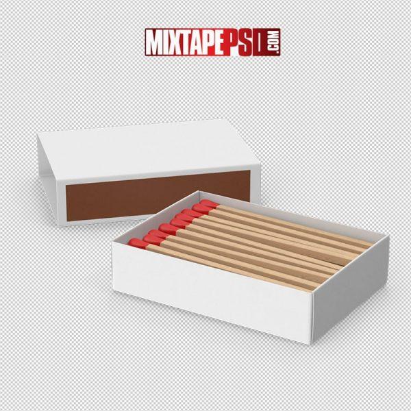 HD Matchbox With Matches