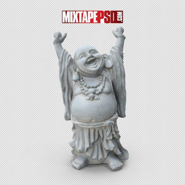 HD Standing Buddha Statue