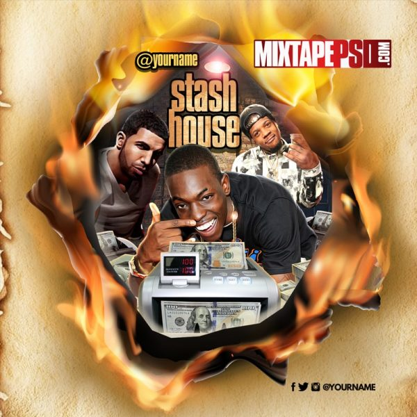 Mixtape Cover Stash House