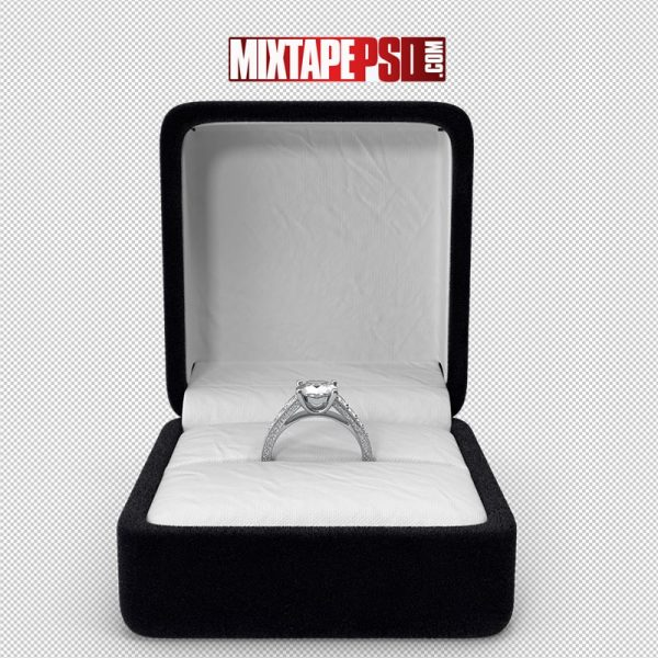 HD Engagement Ring in Ring Box 2