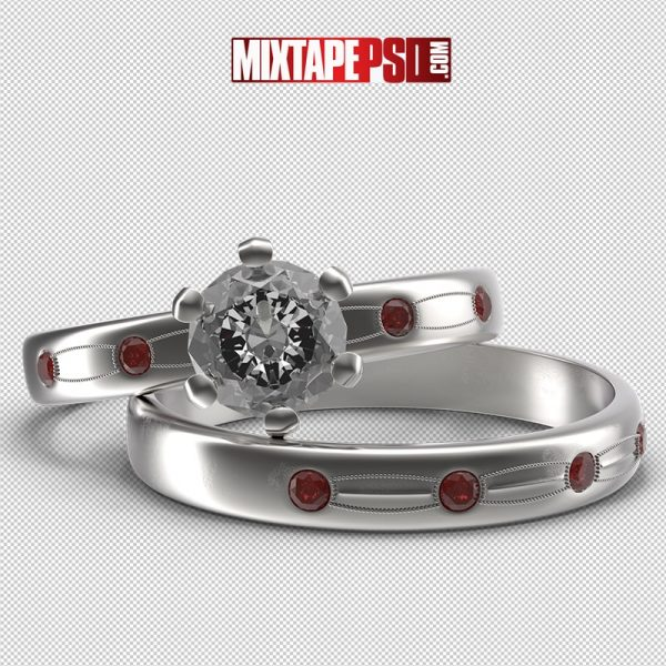 HD Silver Wedding Rings