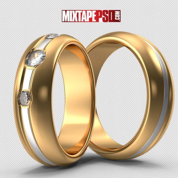 HD Wedding Rings With Diamonds