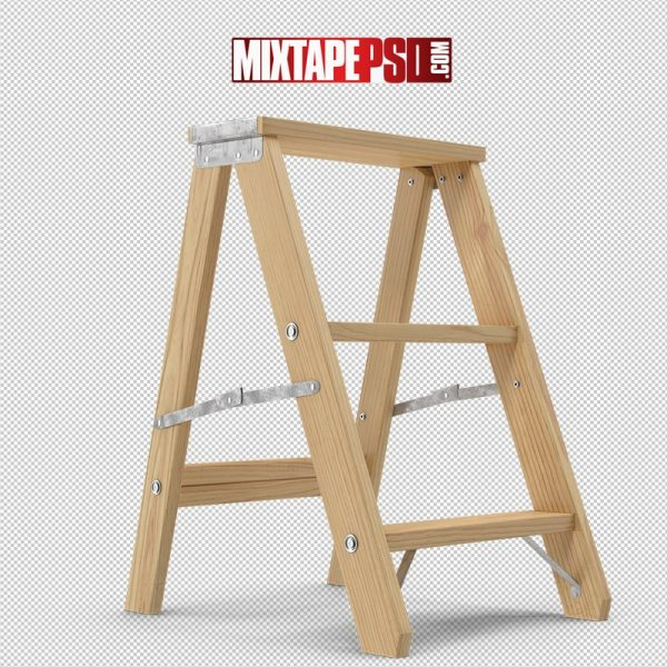 HD Wooden Step Ladder
