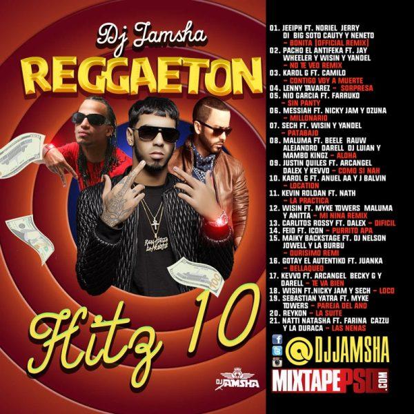 DJ Jamsha - Reggaeton Hitz 10