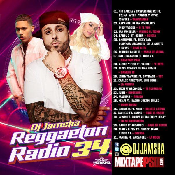 DJ Jamsha - Reggaeton Radio 34