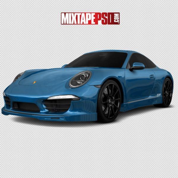 2021 Blue Porsche
