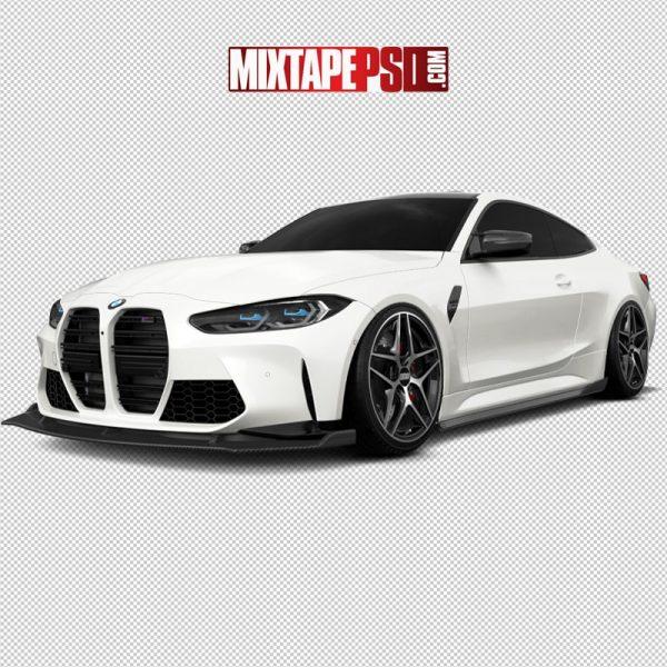 2021 M3 White BMW