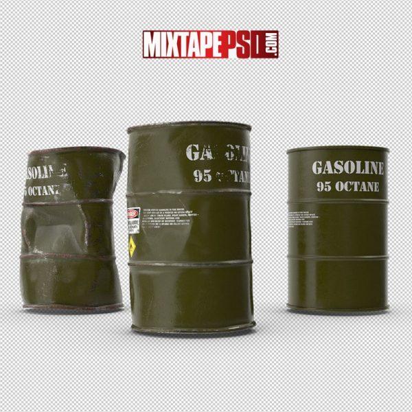 HD Gasoline Metal Barrels