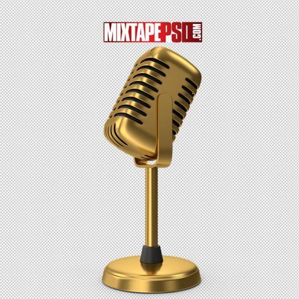 HD Gold Microphone
