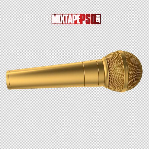 HD Microphone Gold 2