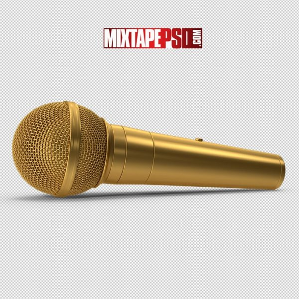 HD Microphone Gold