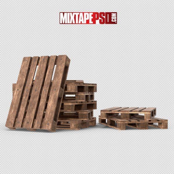 HD Wooden Pallets Heap