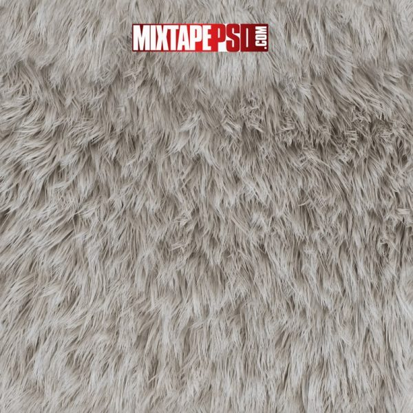 Polar Bear Fur Background