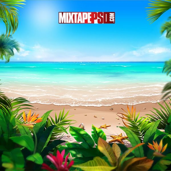 Tropical Beach Background