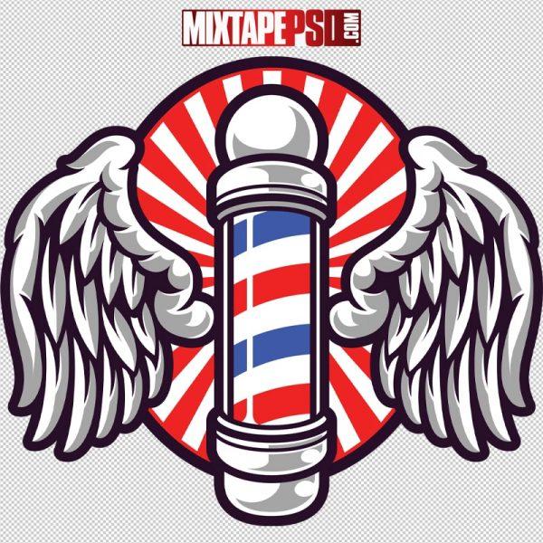Vector Barber Shop Logo