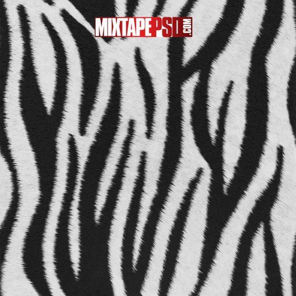 Zebra Fur Background