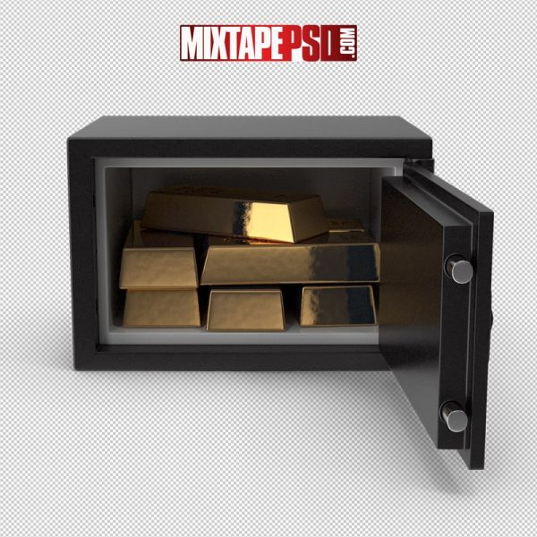 HD Small Safe with Gold Bars 2