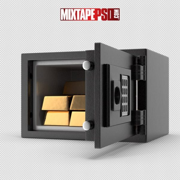 HD Small Safe with Gold Bars