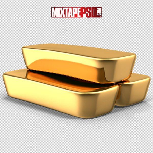 HD Three Gold Bar