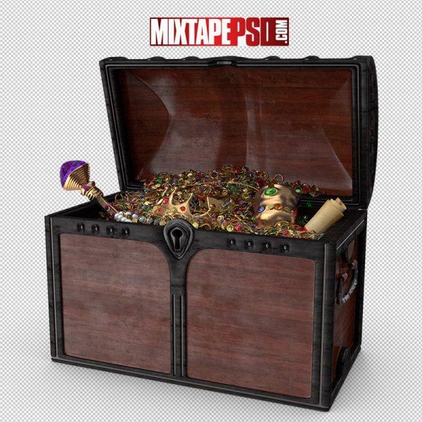 HD Wooden Treasure Chest