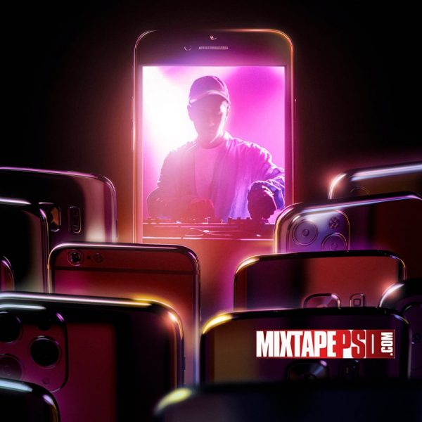 Cellphones DJ Wallpaper
