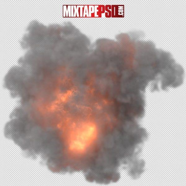 HD Fire Smoke Explosion