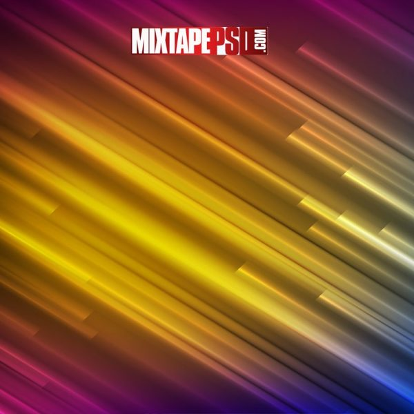 Colorful Smooth Glow Stripes Background
