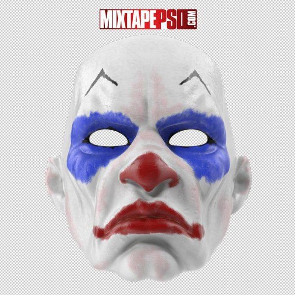 HD Halloween Clown Mask