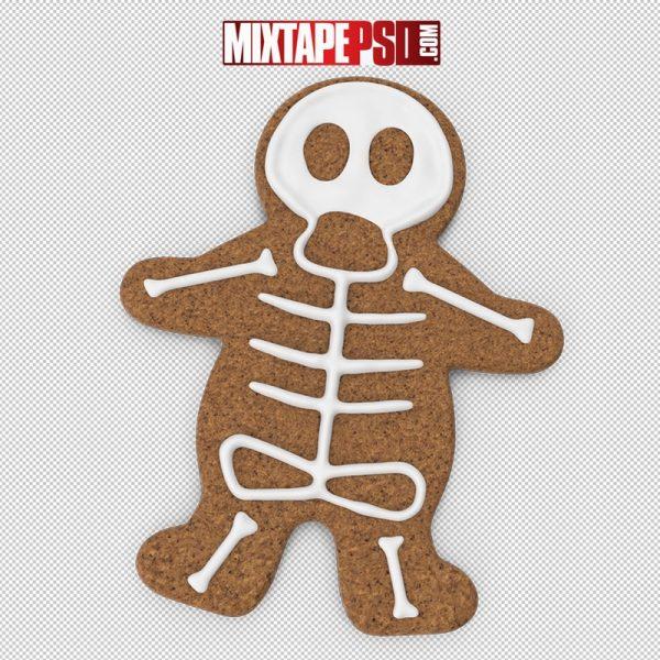 HD Halloween Cookie Man