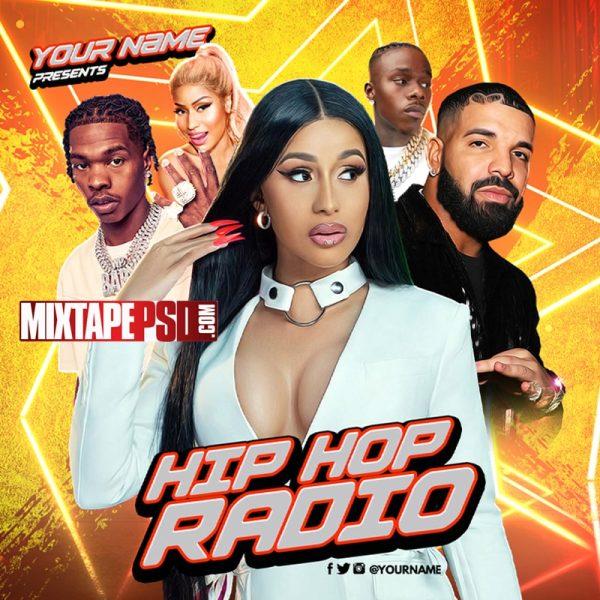Mixtape Template Hip Hop Radio 108