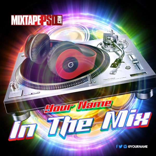 Mixtape Template In The Mix