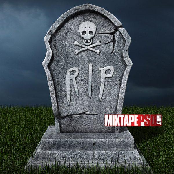 Halloween RIP Gravestone