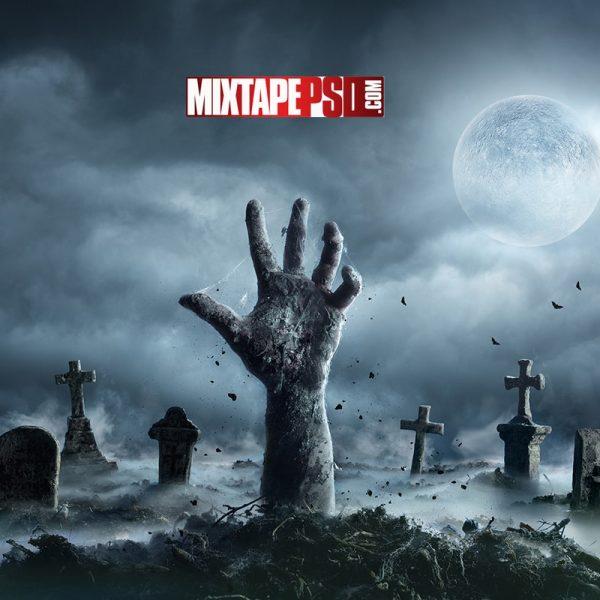 Zombie Hand Cemetery